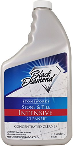 Black Diamond Stoneworks 679773002063 Stone and Tile Intensive Cleaner Marble, Granite, Slate, Limestone, Terrazzo, River Rock, Sandstone, Brick and Grout