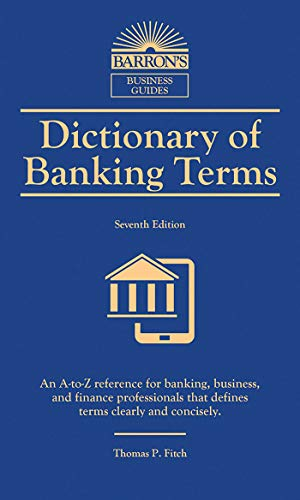 BEST Dictionary of Banking Terms (Barron's Business Dictionaries)<br />P.D.F