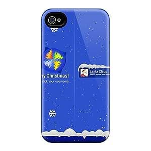 JoyRoom Case Cover For Iphone 4/4s - Retailer Packaging Santa Login Sreen Protective Case