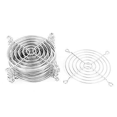 Metal Wire Finger Guard Grill 15 Pcs for 90mm Computer PC Cooling Fan by uxcell
