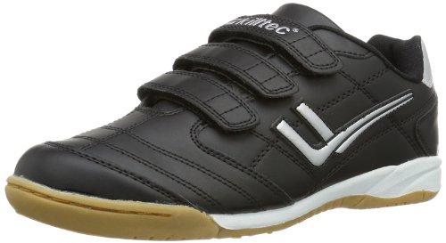 Killtec Genua Jr - Zapatillas de deporte para interior de material sintético infantil, unisex negro - Schwarz (schwarz 00200)