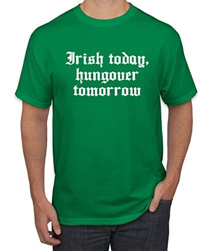 Irish Today Hungover Tomorrow Funny Irish Drinking  