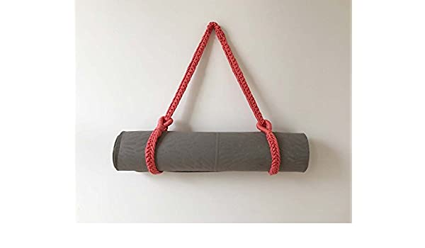 Yoga Mat Carrier, rosa: Amazon.es: Deportes y aire libre
