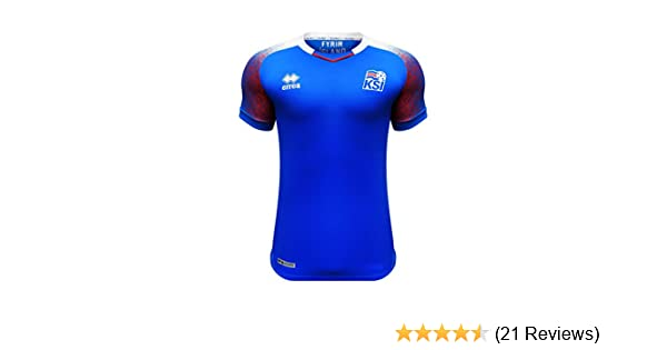 8f3f4fb6d Amazon.com   Errea Iceland World Cup 2018 Official Home Jersey   Clothing