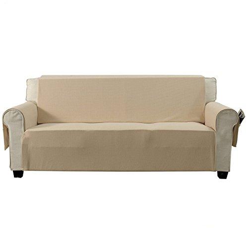 Sofa Covers Oversized: Aidear Anti-Slip Sofa Slipcovers Jacquard Fabric Pet Dog