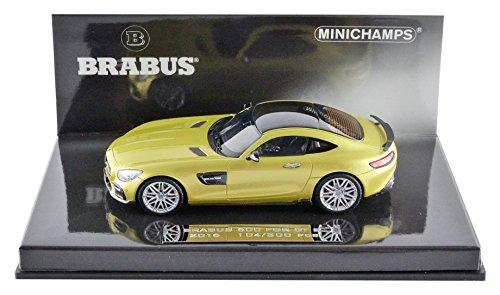 Minichamps 437032522 – Brabus 600 auf AMG GTS – 2016 – Maßstab 1/43 – Gold