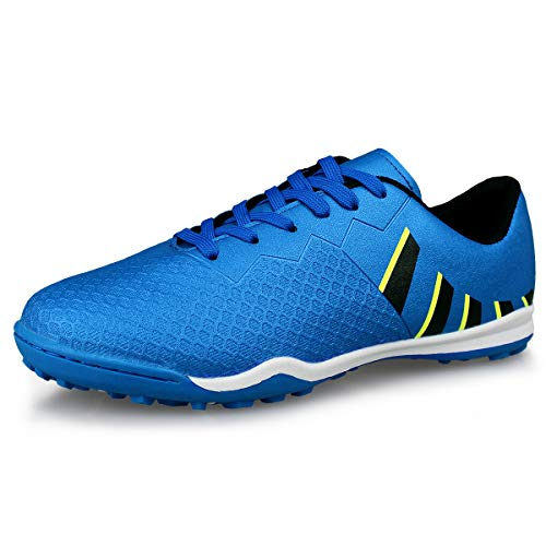 - Hawkwell Men's Athletic Lightweight Running Outdoor/Indoor Comfortable Soccer Shoes,Navy 12 M US