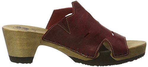 Kombi Rosso Rosso Red Clogs 72 72 Red Women's Think Zunda Kombi 7wqY88