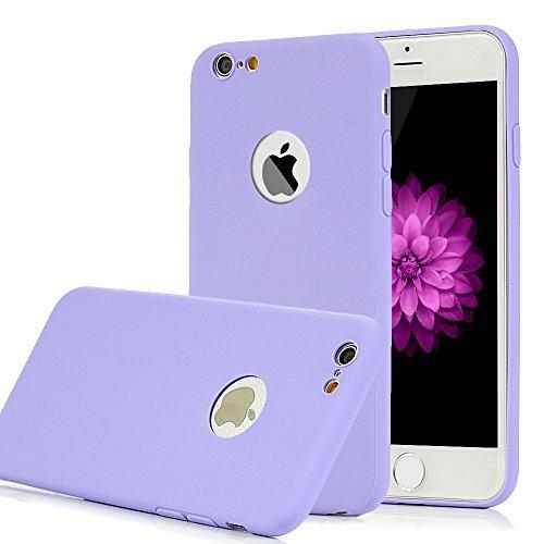 """Coque iPhone 6 / iPhone 6S Mavis's Diary x 9 Étui Housse de Protection TPU Gel Silicone Souple Bumper Coque Antichoc Phone Case Cover Swag 4.7"""" Découpe du Logo Jaune + Vert Clair + Violet + Rose Vif +"""