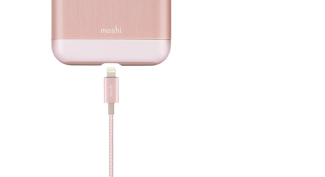 Cable Lightining Moshi Apple 1m MFI