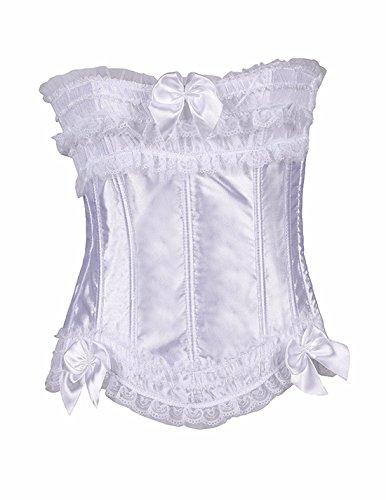Yall Dama Formación Busto corsé vestido de boda nupcial w