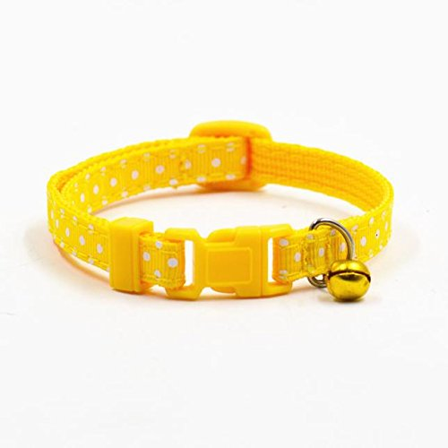 - TnaIolr Pet Collar Personalized Hot Cute Bell Collar Small Dog Collar Cat Collars
