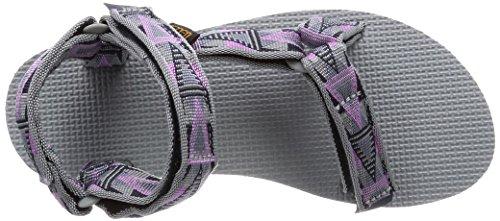 Teva Original Universal Ws - Sandalias Deportivas de material sintético mujer gris - Grau (878 mosaic pink)