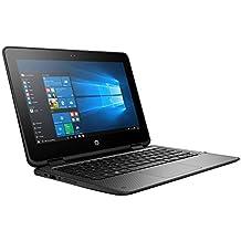 "HP ProBook x360 2-in-1 G1 EE 11.6"" (1366x768) Touchscreen business Laptop PC, Intel Dual Core Celeron, 128GB SSD, 4GB DDR3L, 802.11ac WiFi, USB type C, HDMI, Bluetooth, Windows 10 Pro, only 3.2 LB"