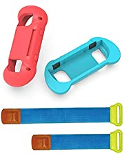 Compatível com Nintend Switch Cuculo Compatível com Nintend Switch Aperto de mão para o jogo de dança Joy-Con Acessórios Controlador Pulseira ajustável