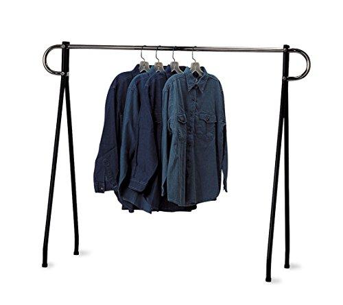 Chrome Clothing Retail - SSWBasics Clothing Rack - Single Bar Garment Rack 60 x 48 inch