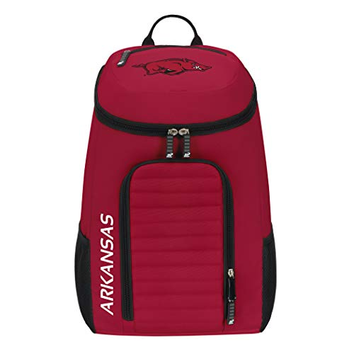 The Northwest Company Officially Licensed NCAA Arkansas Razorbacks Topliner Backpack, Red, 19