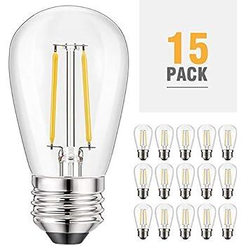 Kohree S14 Led Bulb 2w 2200k Edison Light Bulbs For