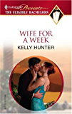 Wife For a Week (The Bennett Family Book 1)