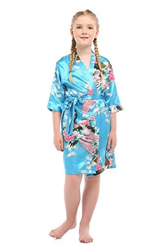 oriental silk dressing gown - 9
