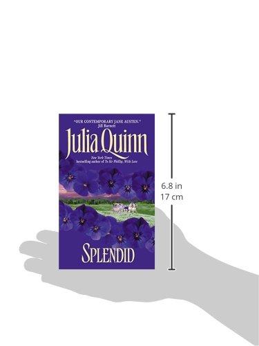 luxurious and splendid live stream chat room. Splendid  Avon Historical Romance Julia Quinn 9780380780747 Amazon com Books