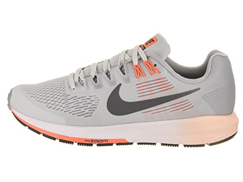 Nike Womens Air Zoom Structure 21 Scarpa Da Corsa Lupo Grigio / Grigio Scuro