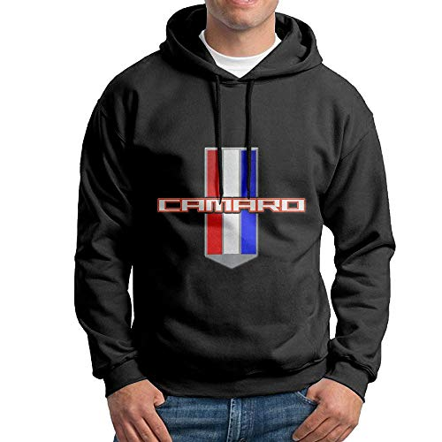 Shijingshan Men's Hoodies Camaro Performance Car Best Pullover Hooded Print Sweatshirt Jackets