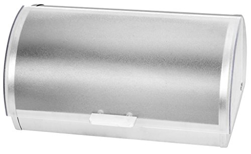 KOVOT Stainless Steel Roll Top Bread Box | Bread Holder And Bread Storage Bin | 15 3/8