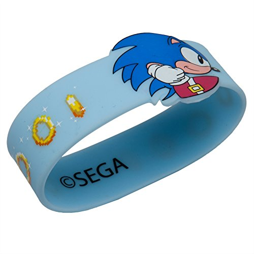 Sonic the Hedgehog - Chasing Rings Rubber Wristband