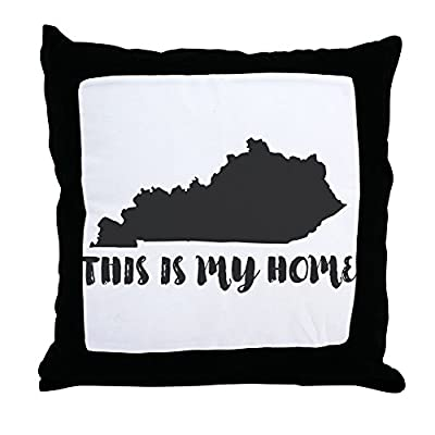 CafePress - Kentucky - This Is My Home - Throw Pillow, Decorative Accent Pillow