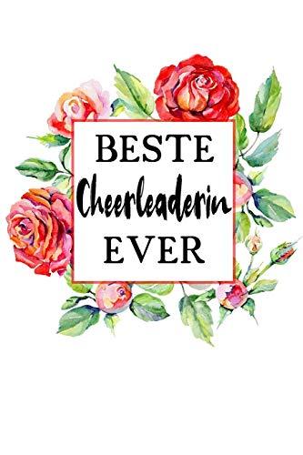 Beste Cheerleaderin Ever: A5 Liniertes • Notebook • Notizbuch • Taschenbuch • Journal • Tagebuch - Ein lustiges Geschenk für Freunde oder die Familie und die beste Cheerleaderin der Welt por Cheerleaderin Notizbücher