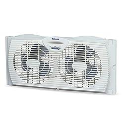 Holmes Window Fan with Twin 6-Inch Rever...