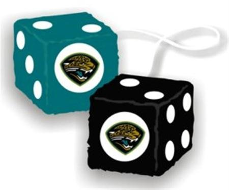 NFL Jacksonville Jaguars Fuzzy Dice