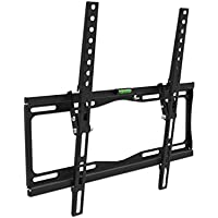 Xtech Americas Low Profile TV Wall Mount with Tilt function 10 degree, 1 Inch Slim, Fits 23 to 55 Inches, Load of 66 Lbs, VESA Max 400x400mm For Samsung, LG, Sony, Panasonic, Vizio, Sharp and others