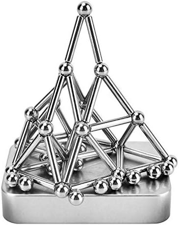JSLY Juguetes De Bolas Palos Bloques Construccion Magneticos Anti Estres Regalo 70PCS