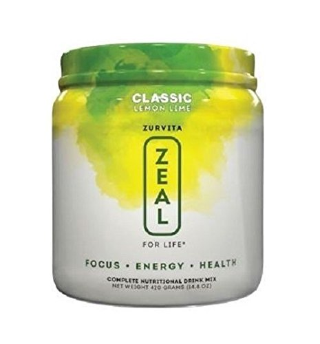 Amazon.com: New Zeal For Life by Zurvita -Wellness Formula Lemon Lime - 30 Servings - 1 Month Supply: Health & Personal Care