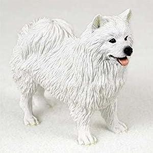 American Eskimo Dog Figurine 14