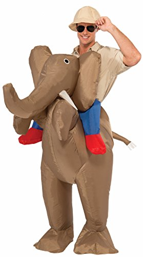 Forum Novelties Men's Ride An Elephant Inflatable Costume, Multi, One -