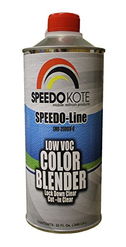 Color Blender Lock Down Clear low 2.1 voc, Ready to Spray, Quart, SMR-3500LV-Q