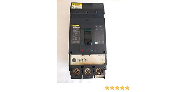 Square D LJA36400U31X Circuit Breaker 3p 600v 400a I-Line LI Functions