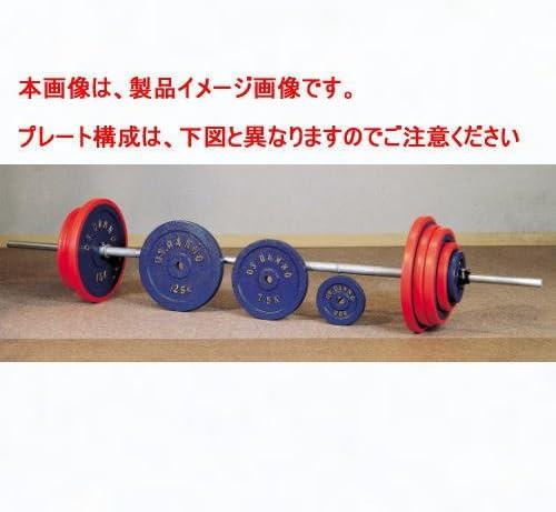 DANNO ダンノ C型バーベル 80kgセット(φ28mm)D-765
