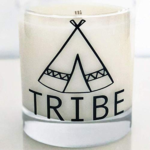 The Thread Candle Co. Luxury Tribe Candle. Handcrafted with 100% Coconut, Soy and Palm Wax in the USA. 8 ounce Scented Candle. Best Friends, Family Gift or Trendy Addition to Your Home Decor.