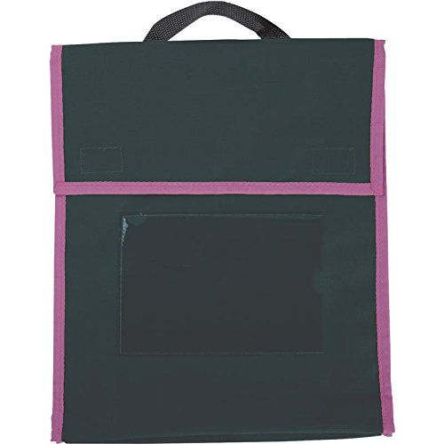Medium Book Pouches - Black - Set Of 4 by Really Good Stuff