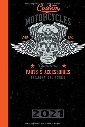 Custom Motorcycles ESTD 1969 Genuine Parts & Accessories Pasadena