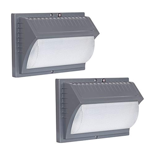 Honeywell LED Rectangular Security Light (Titanium Gray - 2 Pack)