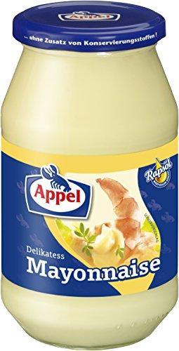 Appel Delikatess-Mayonnaise mit wertvollem Rapsöl, 12er Pack (12 x 500ml Glas)