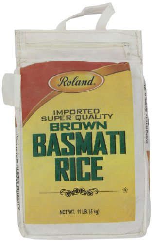 Roland Foods Basmati Rice, Brown, 11 Pound (Best Brand Of Brown Rice In India)