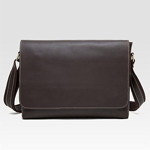 DJB/MAD MA Heian Nidan/Echtes Leder Messenger/Schultertasche/Außenhandel/Vintage Herren Kuh Leder Tasche