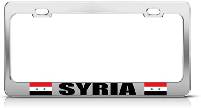 3/'/' or 5/'/' Syria Grunge World Flag Butterfly Car Bumper Sticker Decal