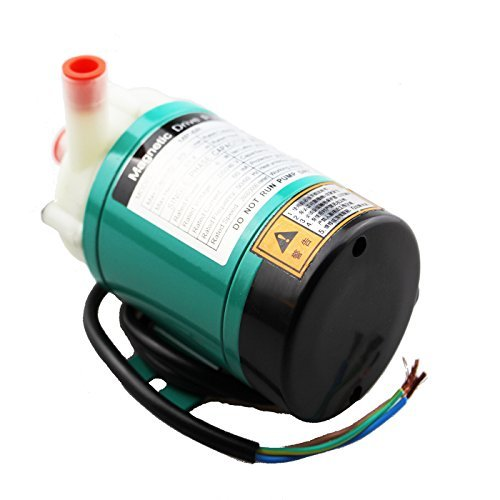 HSH-Flo Magnetic Drive Water Pump 480LPH 220V Food Grade Industrial Pump